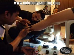 Body Painting Training16