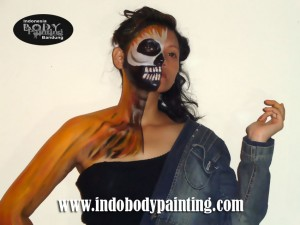 Body Painting Training4