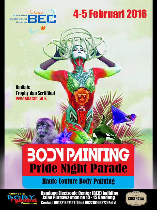 body painting Night Parade copy