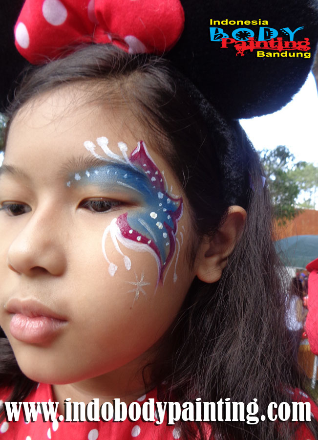 Face Painting Bandung - Kids Birthday Party 26