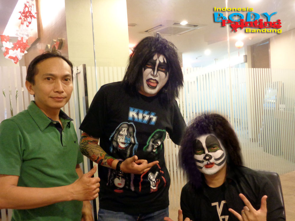 Kiss Rockstar – Face Painting Mandiri Prioritas