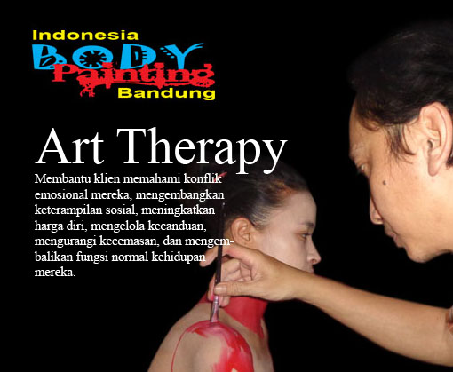 Art Therapy Body Painting